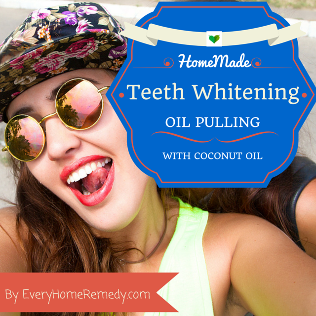 Oil Pulling whiten teeth