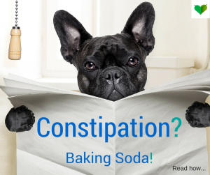 use baking soda constipated