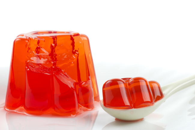 Gelatin is another easy to digest food idea. You don't want to go eating too much of it if you are lookign to lose weight, but it does move through the digestive system well.
