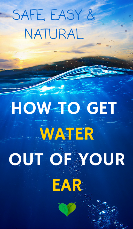 GET WATER OUT OF EAR