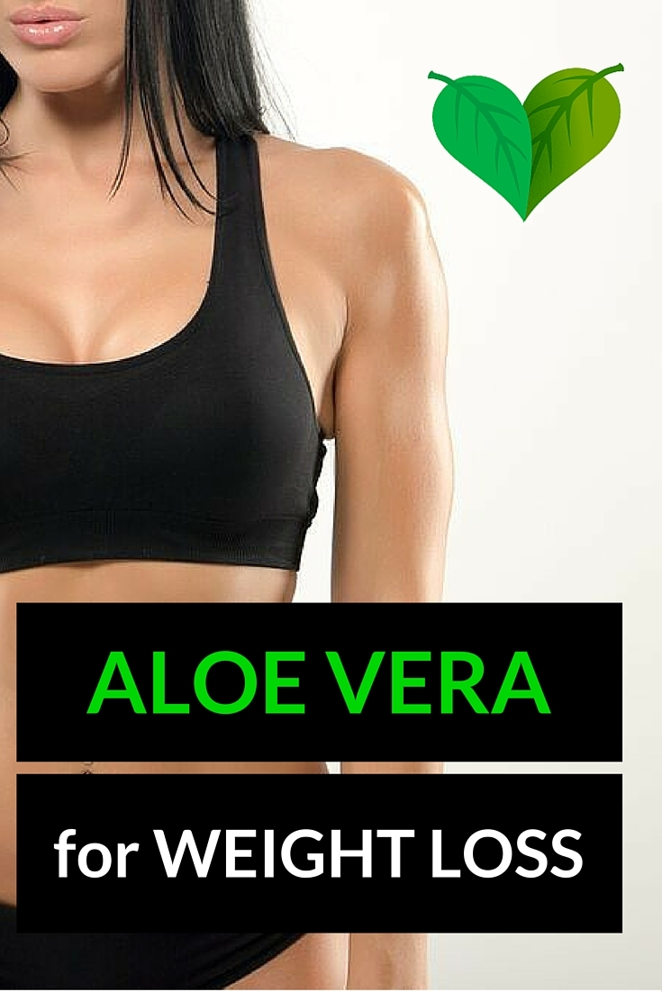 lose weight with aloe vera