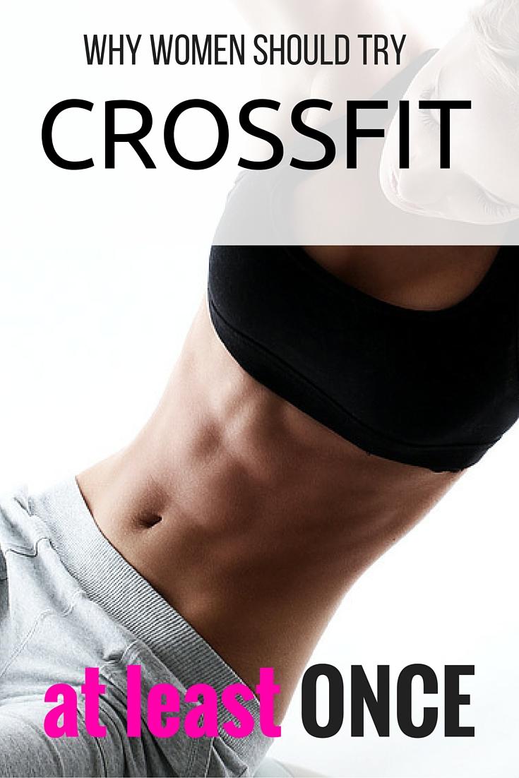 crossfit is great for women