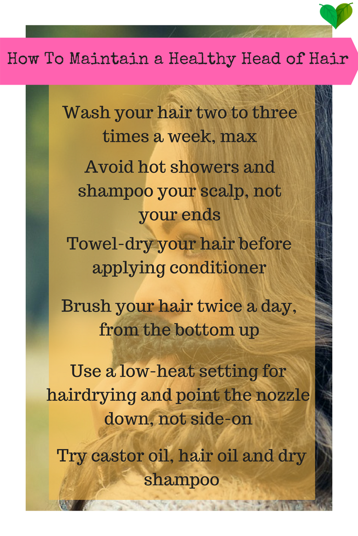 healthy hair tips