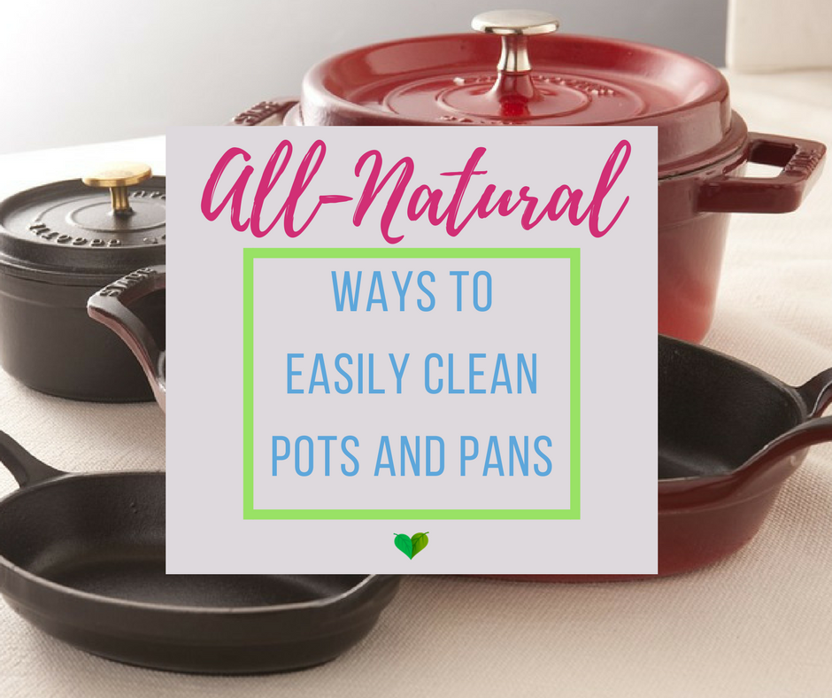 how to clean stainless pots and pans