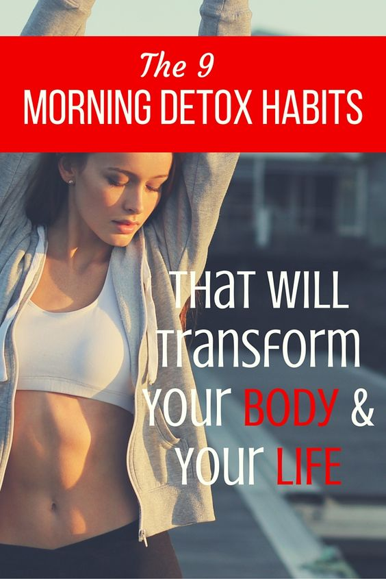 how to do a detox morning