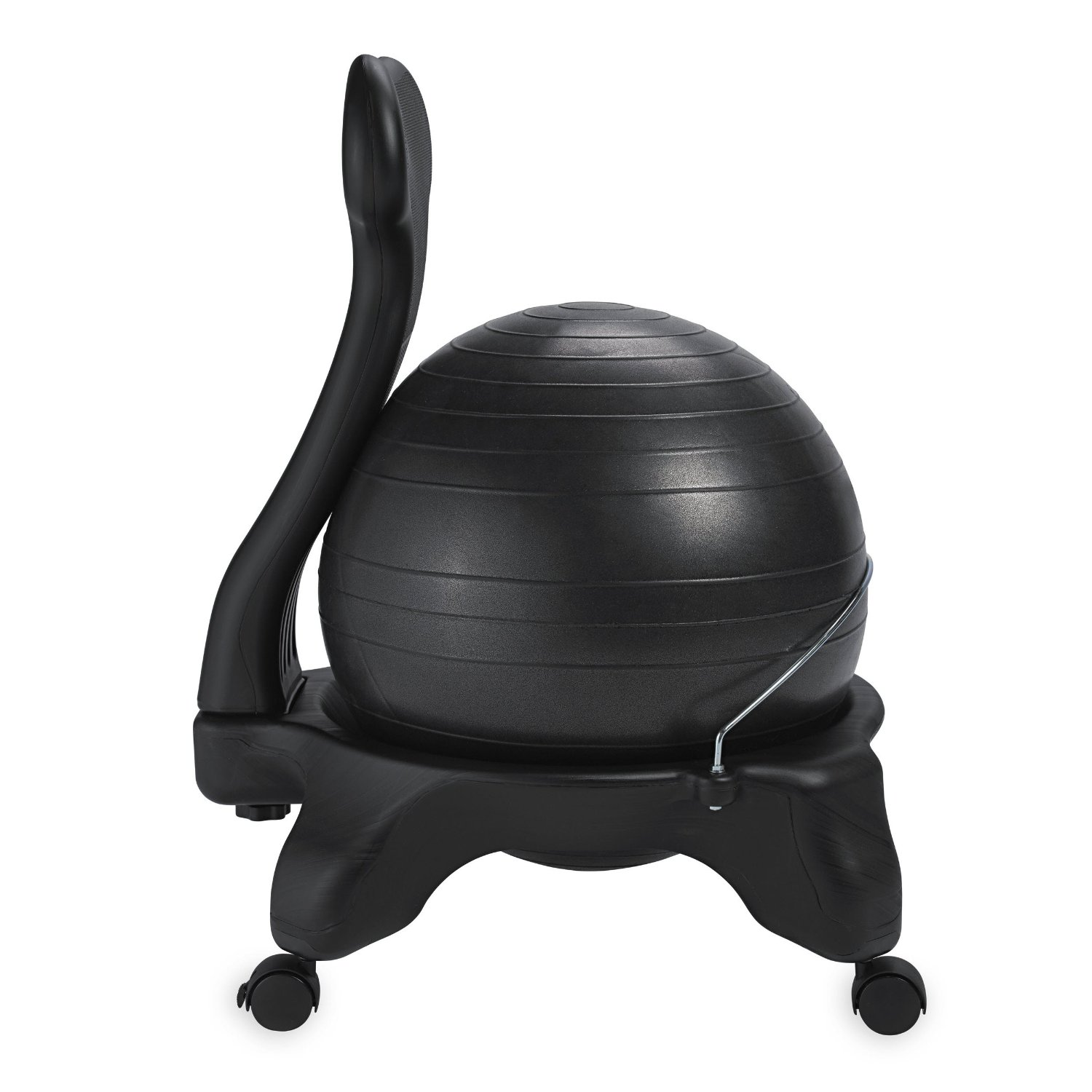 ball chair with built in legs