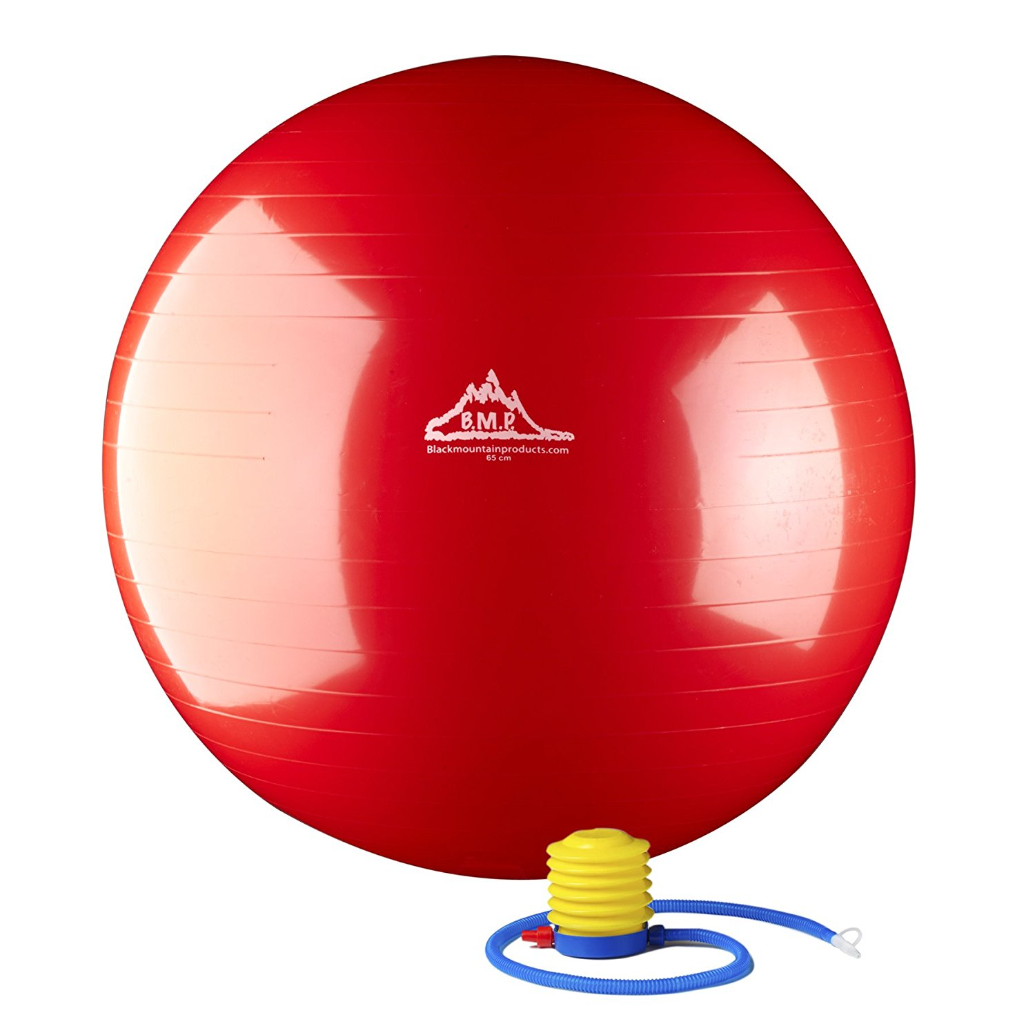 sitting on a ball to improve posture