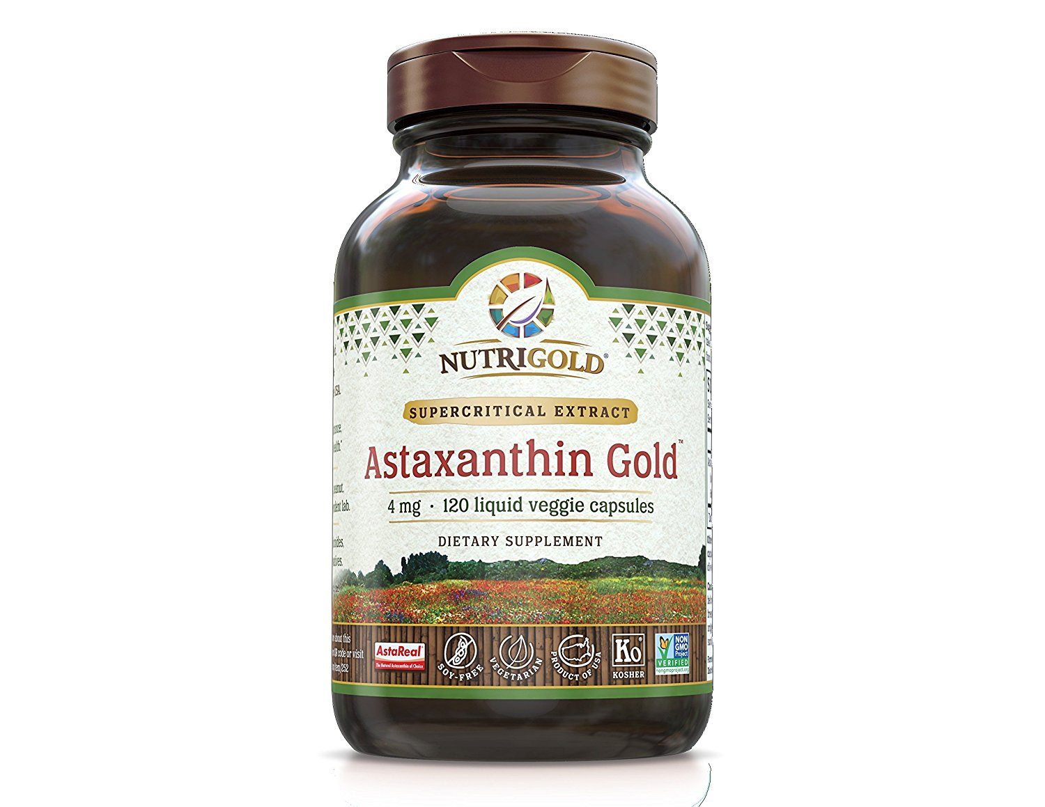 how much astaxanthin to take daily? You only need to take one capsule a day from Nutrigold