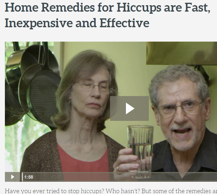 Hiccup Home Remedies
