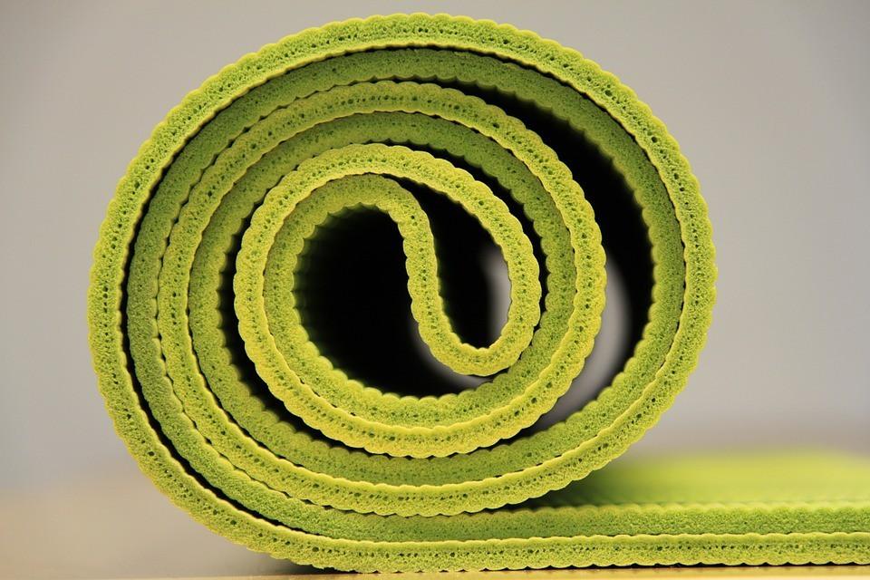 yoga mat foam roller