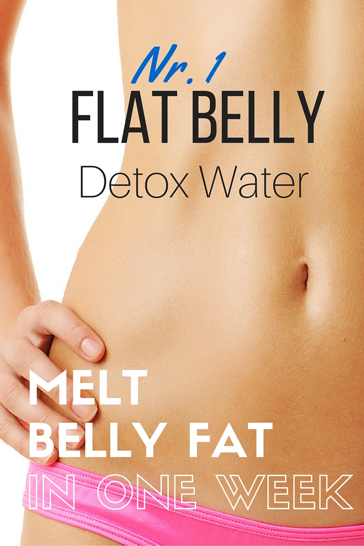 A Flat Belly in 7 Days with the nr. 1 Detox Water Recipe