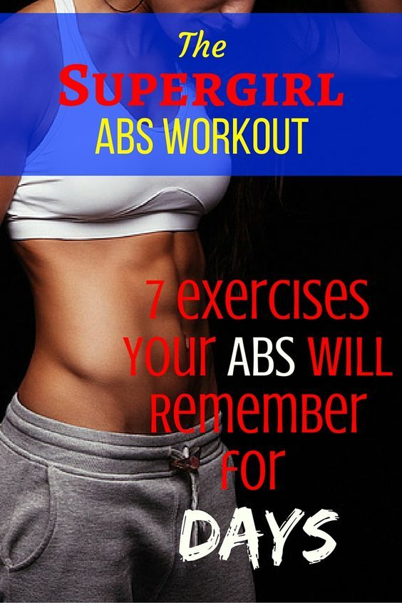 how to lose fat on the waist? These abs exercises will help you get there FAST