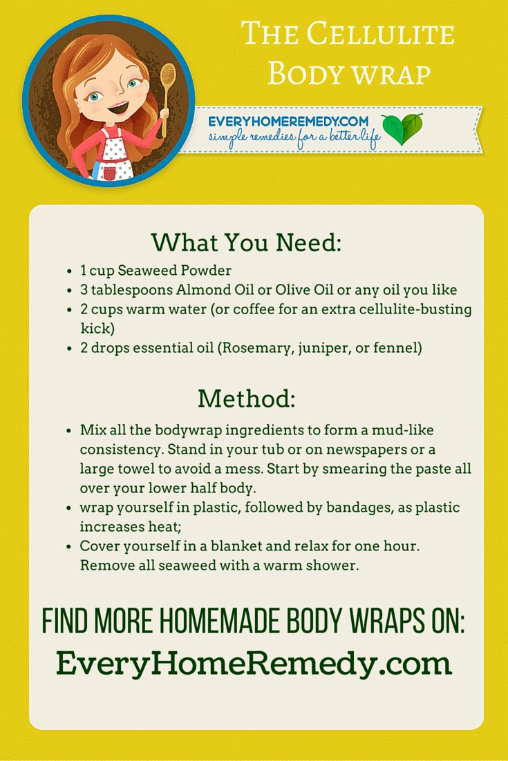 the best homemade body wraps: 5x diy body wrap recipe |