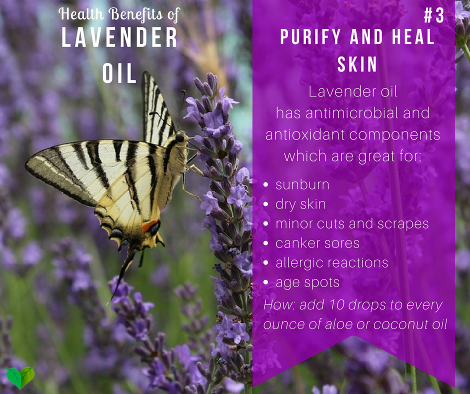 lavender oil with acne