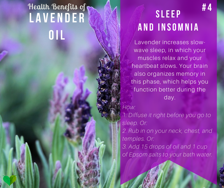 why lavender helps you sleep